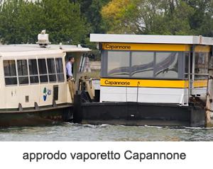 Approdo vaporetto Capannone
