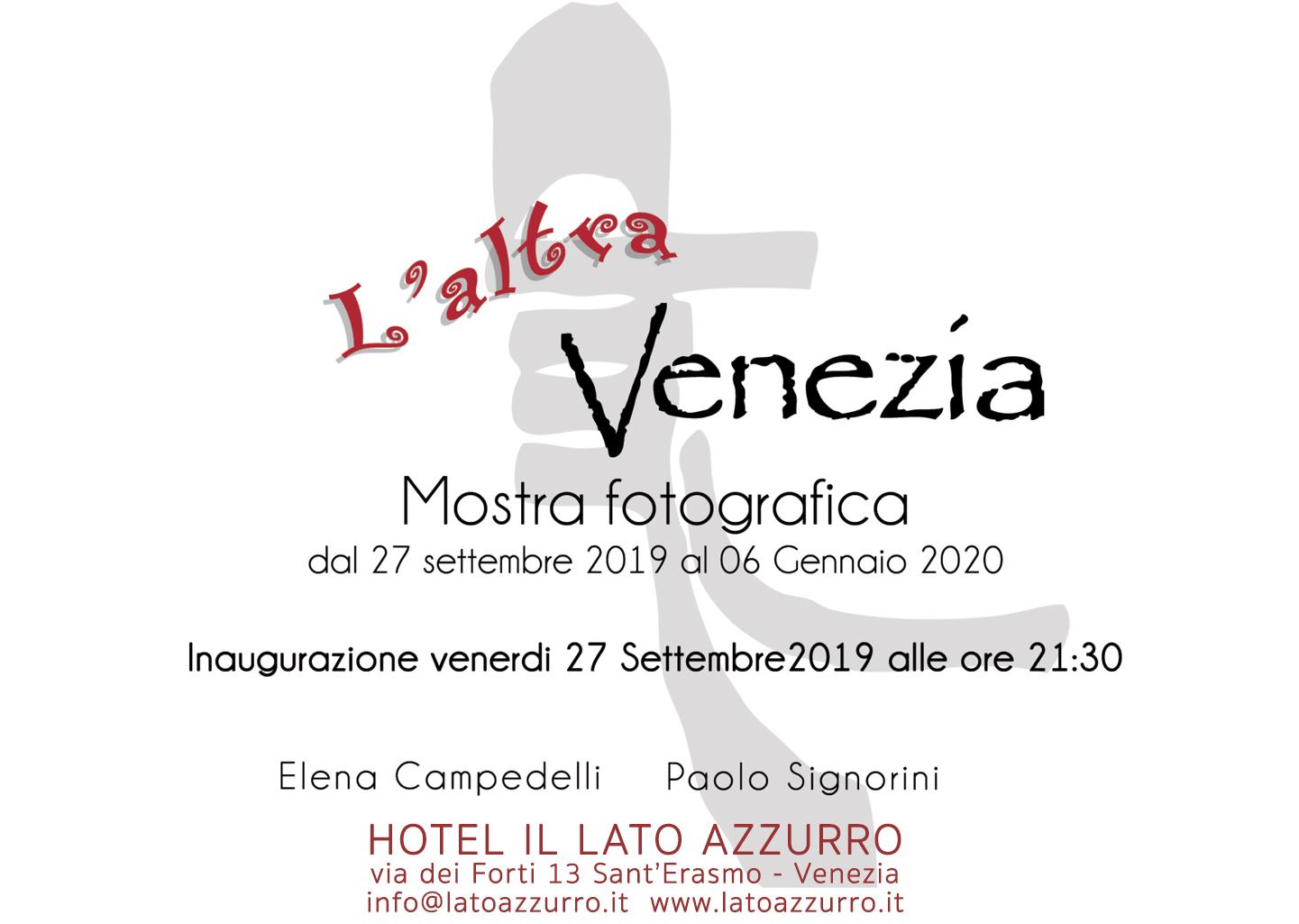 L'altra Venezia mostra fotografica